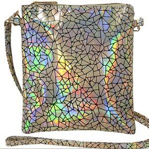 ‼️LAST ONE‼️ NWT Holographic Bag